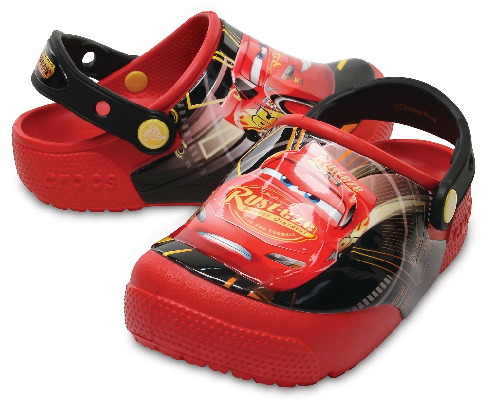 фото CrocsFunLab Lights Cars 3 Clog Flame C9 в интернет-магазине Magicmama.ru