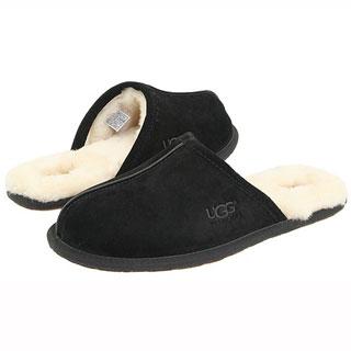 1beafc6315b77 Купить Мужские тапочки UGG Australia Scuff Black в интернет-магазине ...