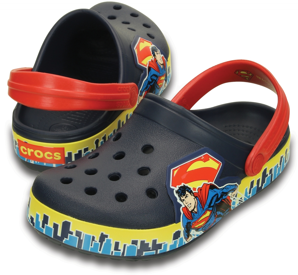 фото Crocband Superman Clog K в интернет-магазине Magicmama.ru